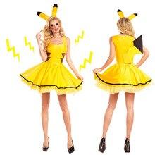Pokemon Go Женщины Команда Мистик Доблесть Инстинкт Девушки Косплей Костюм Pokeball Туту Мини-Балет Dress Party