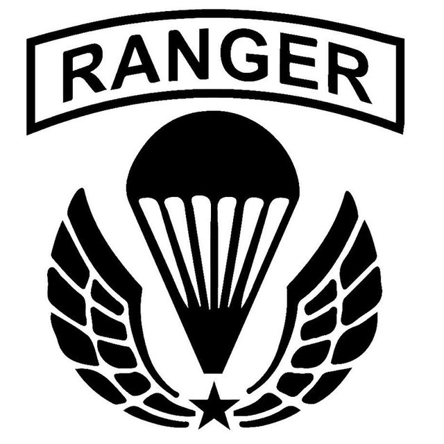 21 8cm24 1cm us army ranger airborne funny vinyl decal sticker car stickers stylings