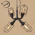 Винтажный iorn американский кантри классические подвесные светильники светодиодные лампы подвесной светильник 220 В для столовой траектории ...