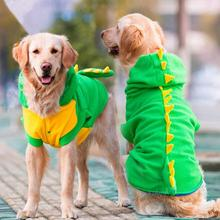 New Sweater Big Dog Vitality Dinosaur Clothes Large Dog Coats Clothes Pet Supplies Pet Hoodies 2016 New