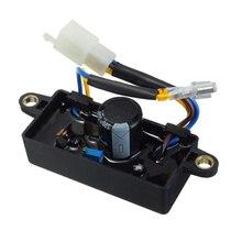 Автоматический Электрический Регулятор выпрямителя напряжения для однофазного 2KW-3KW китайские запасные для бензинового генератора запчасти AVR 110*38*35 мм