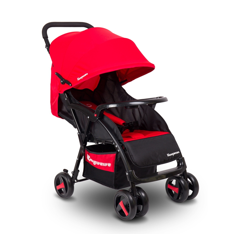 High Quality Baby Carriage Safety Infant Pushchair Adjustable Foldable Pram Buggy Carriage Strollers for Newborns