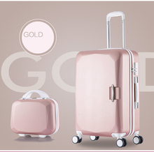 цена на 20 22 24 26 inch High capacity Rolling Luggage Spinner Students Password Suitcase Wheels 20 inch Carry on Trolley Travel Bag