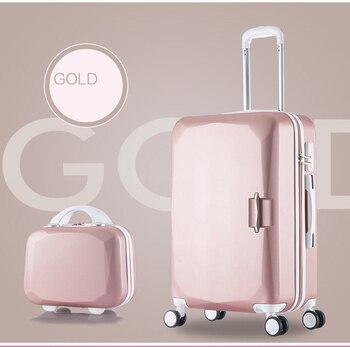5cb7b693c LEINASEN moda Popular equipaje rodante 20