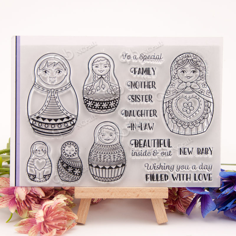 NCraft Clear Stamps N1339 Scrapbook Paper Craft Clear stamp scrapbooking