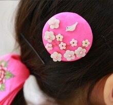Imported Korean Hanbok Costume Accessories Little Girl s Cute Sweet Side Hair Pins BB Pins Hair