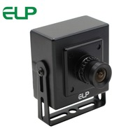 ELP No distortion USB Camera MJPEG 260fps 640X360/120fps 720P/60fps 1080P CMOS OV4689 Mini USB Webcam 260FPS