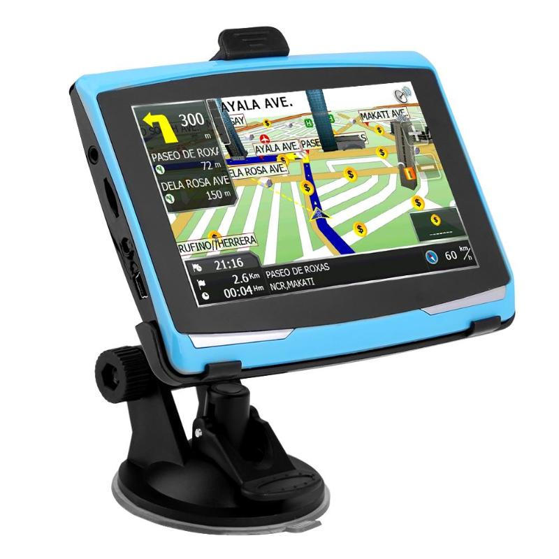 US $41.49 17% OFF|5inch Portable 8GB GPS Car Navigation Navigator FM on