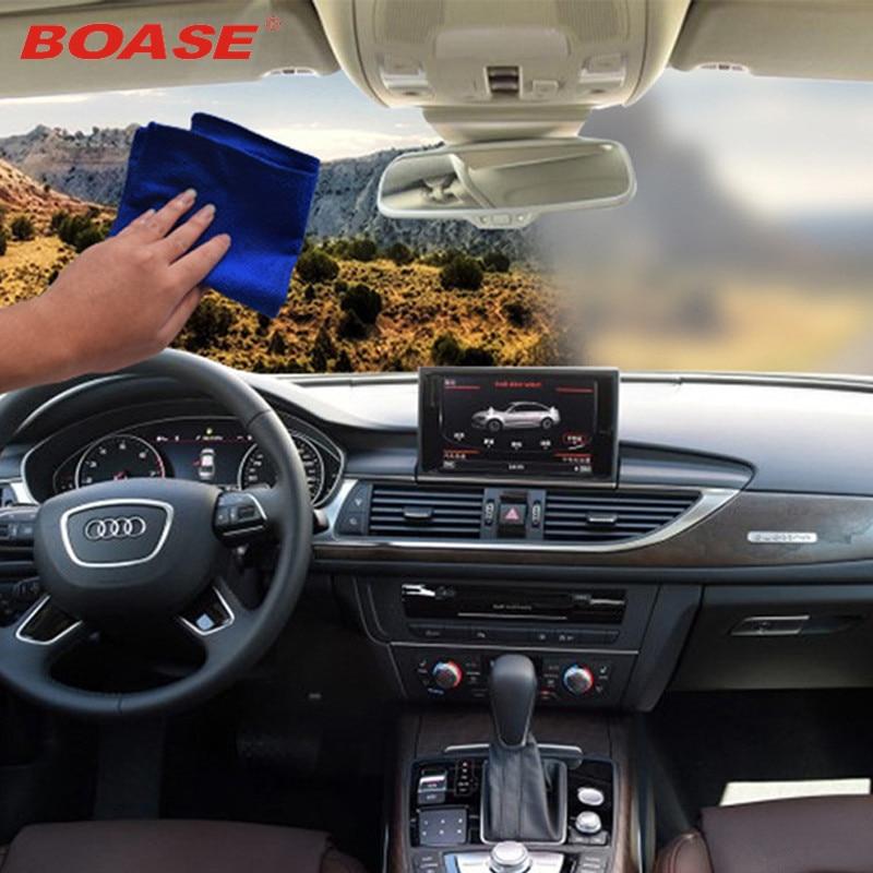 Automobile anti-tåge håndklæde bil rent håndklæde glas antifogging håndklæde afvisnings håndklæde 24 timer non-fogging