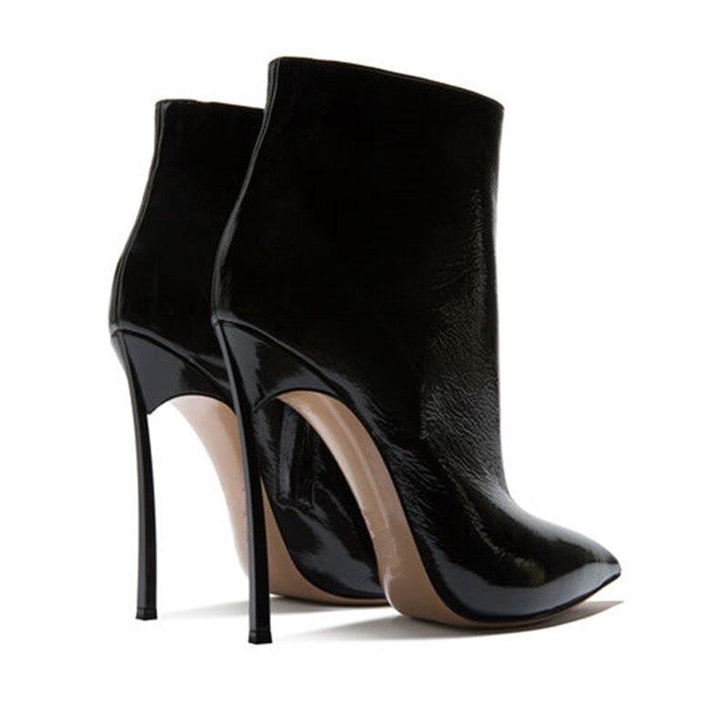 Frauen Mode Pl Spitz Msstor Ankle Heel Stiefel High Schuhe 0kPnwO8X