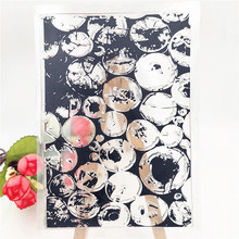 JC Rubber Stamps for Scrapbooking Wooden Pile Sheet Silicone Seals Craft Stencil Album Clear Paper Card Making Template
