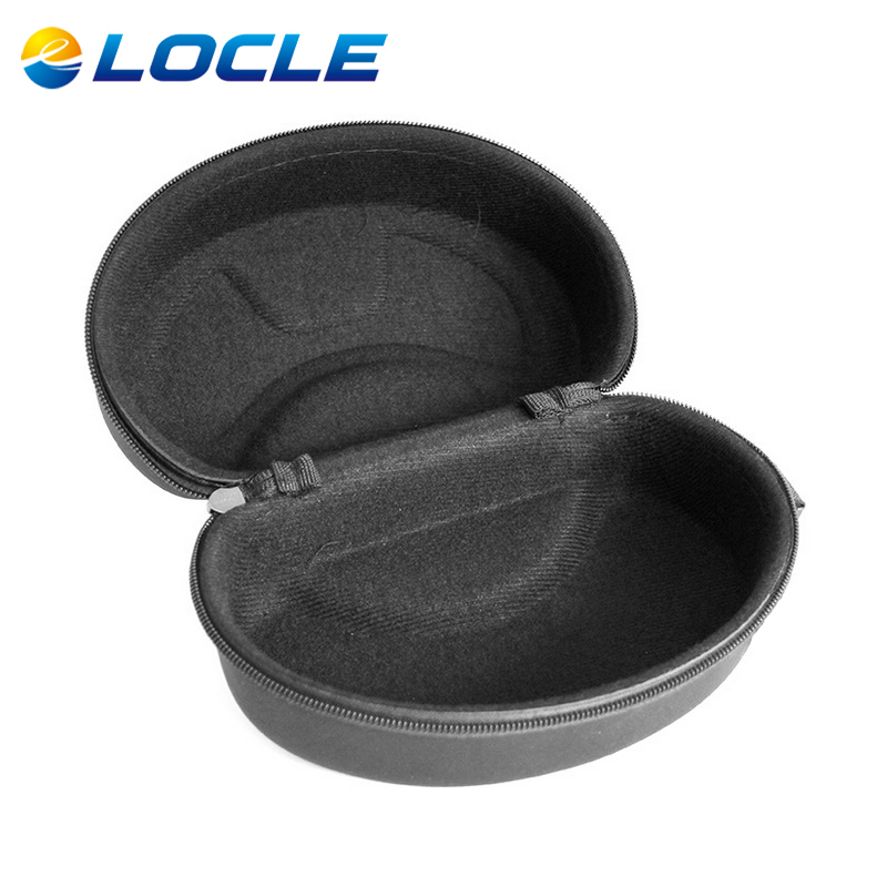 LOCLE font b Ski b font Glasses or Goggles EVA Protector Motocycle Glasses Box Case