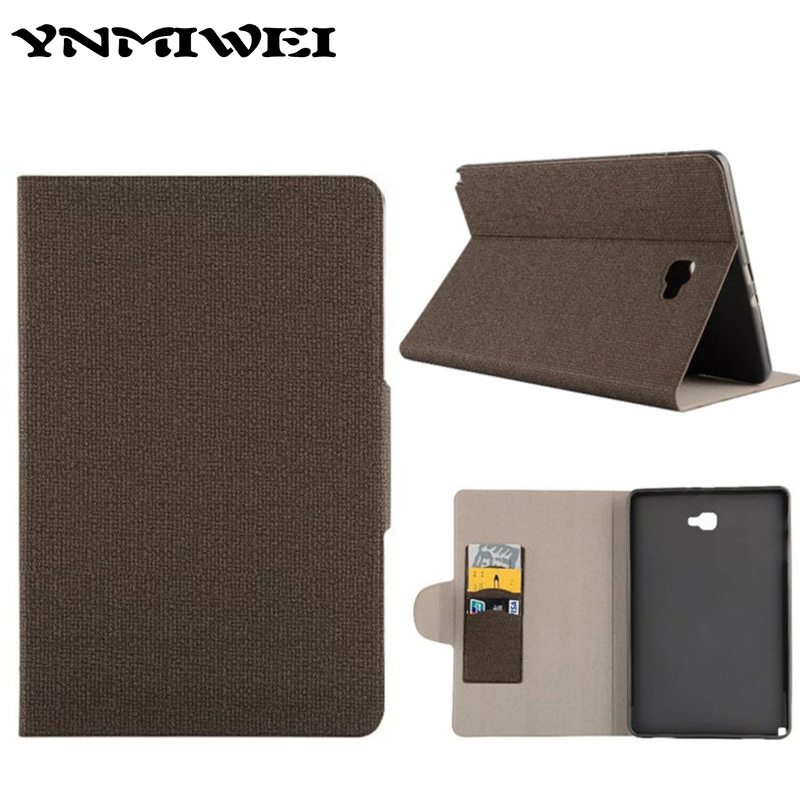 Stand Case Cover For Samsung Galaxy Tab A 10.1 P585 Flip PU Leather Case Cover Luxury Protective Shell cases For Sasmung SM-P585 pu leather tablet case cover for samsung galaxy tab 4 10 1 sm t531 t530 t531 t535 luxury stand case protective shell 10 1 inch