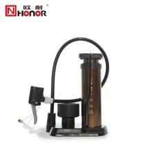 HONOR Mini Multifunction Portable Pump Ultra-light Bike Pump Hose With Pressure Gauge High Pressure Bicycle Pump 160 PSI