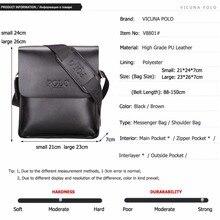VICUNA POLO Leather Men Bag