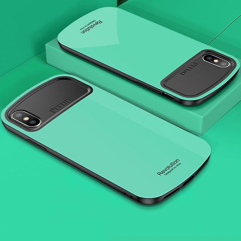 Toraise Para iPhone X 360 Caso Proteção Integral Macio Quadro + Tampa do PC Duro Case Para iPhone 8 Plus Capa Funda Para iPhone 7 Mais Caso