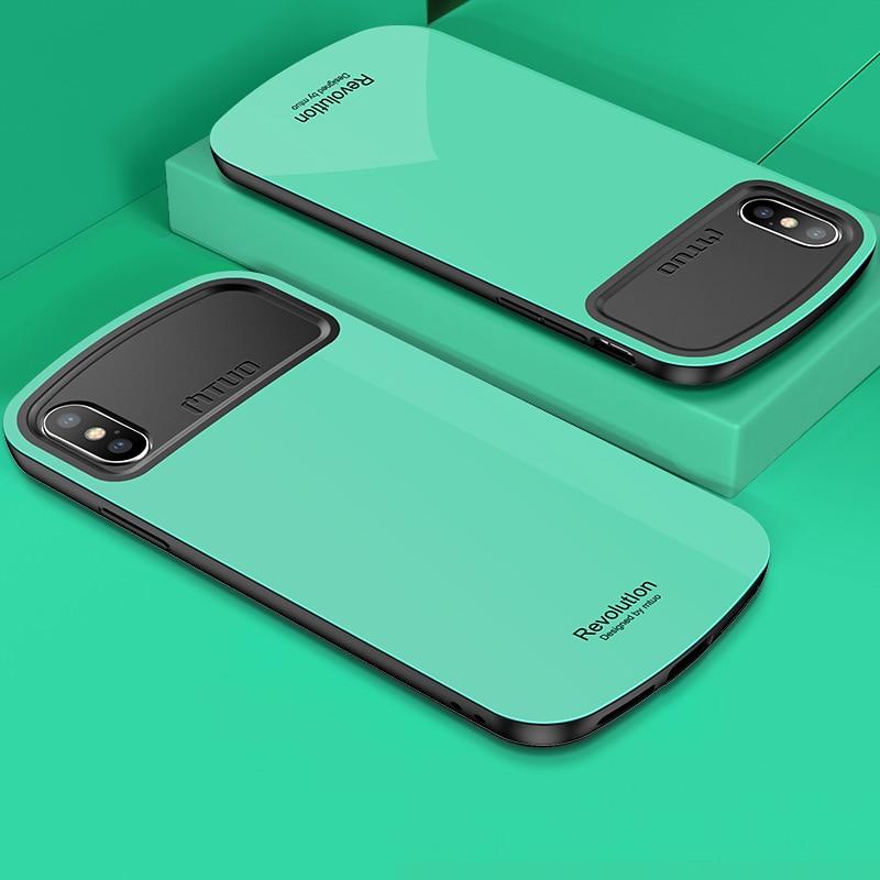 Toraise para iPhone x caso 360 de protección completa Soft Marcos + caso duro de la PC para el iPhone 8 más funda CAPA para iPhone 7 más caso