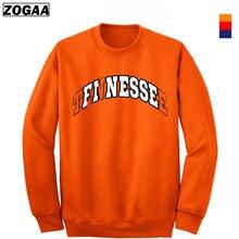 ZOGAA 2019 Casual Hoodie Pullovers Hoodies Men Sport Wear Solid Printing Mens Crewneck Sweatshirt For Man Clothing