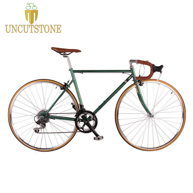 road bicycle fixie bike 700C vintage Fixed Gear bike Track 14 speeds road Bike title=