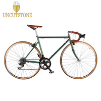 road bicycle fixie bike 700C vintage Fixed Gear bike Track 14 speeds road Bike