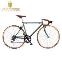 road bicycle fixie bike 700C vintage Fixed Gear bike Track 14 speeds road Bike