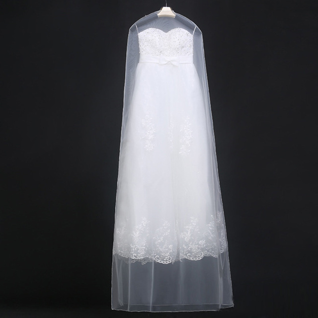 Wholesale Cheap Clothes Dust Cover Bag Bridal Gowns Cover Formal ...