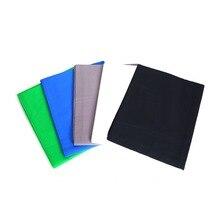 Cy 뜨거운 판매 1.6*4 m/5.2 * 13ft 길이 사진 스튜디오 부직포 배경 화면 5 색 녹색 흰색 파란색 (옵션)