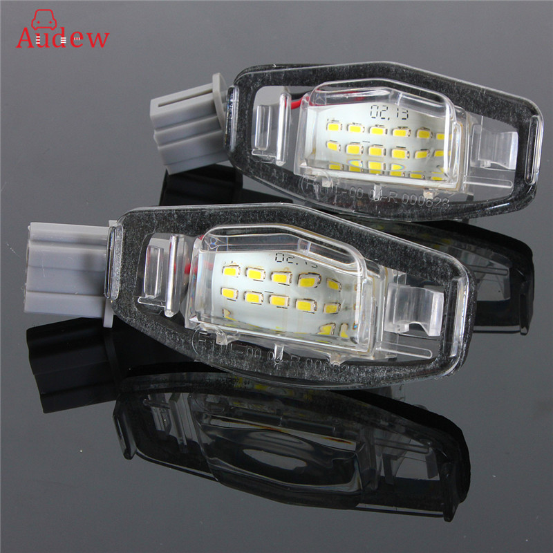 2шт 18 LED номерного знака Количество Светильник Ф=для Honda/Аккорд/Одиссей/Акура/ЦХ/Цивик 01-05