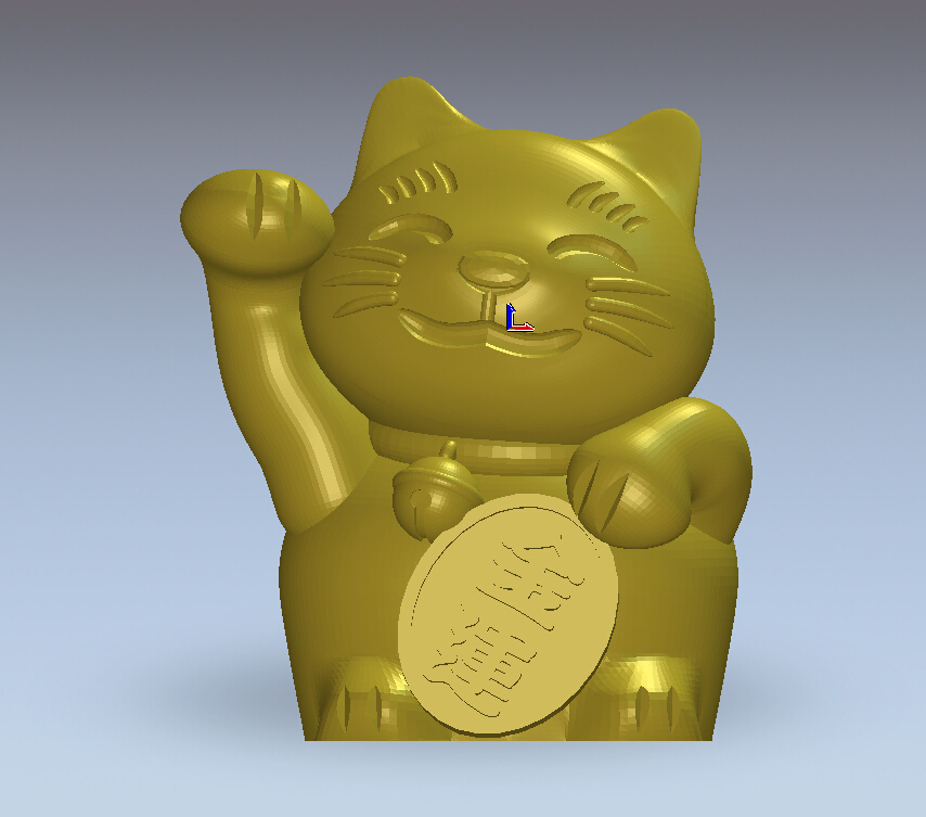 3d model relief for cnc machine in STL file format  Lucky Cat 3d model for cnc 3d cnc machine in stl file format aryah and cypress figure