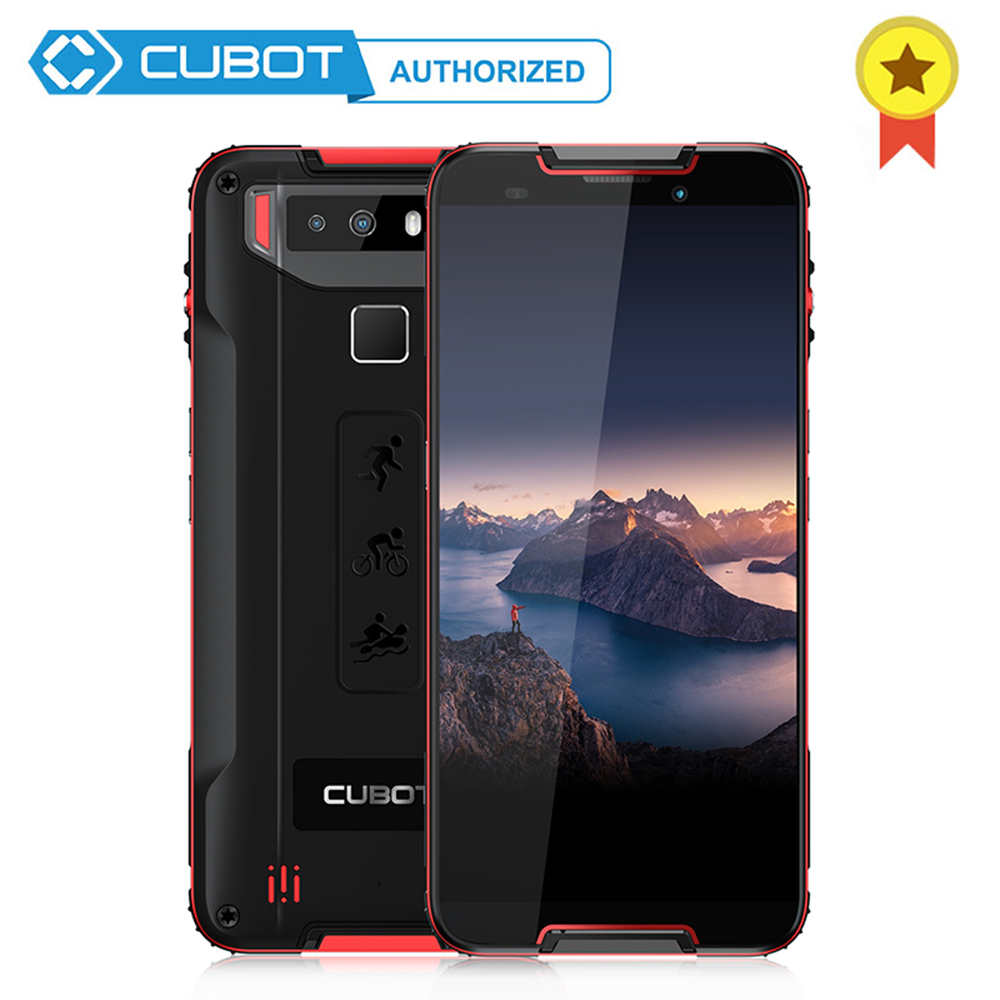 Original Cubot Quest IP68 Waterproof Dustproof Mobile Phone MT6762 Octa Core Andriod 9.0 4GB RAM 64GB ROM NFC Smartphone 4000mAh