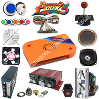 DIY Arcade parts Bundles Kit with 815 in 1 multi game board Joystick switching power supply Buttons To Build Up Arcade Machine