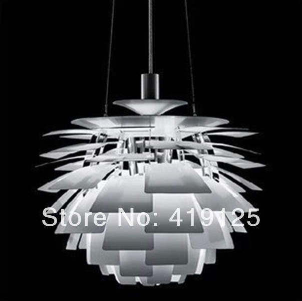 Free Shipping Lighting Fixture Louis Poulsen PH Artichoke Pendant Lamp Repllica 120v/230v Denmark Modern Suspension free denmark classic design lamp louis poulsen artichoke pendant light aerospace aluminum 38cm 48cm pine cones echinacea light