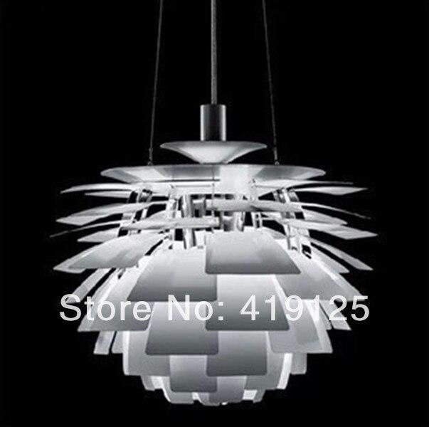 Freies Verschiffen Leuchte Louis Poulsen PH Artischocke Pendelleuchte  Repllica 120 V/230 V Artischocken Lampen Weißes Dänemark Modernes Freies In  Freies ...