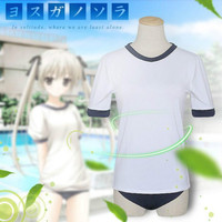 Japanese student gymnastics suit college sportswear cosplay demon fox X servant ss skull palace song stay more