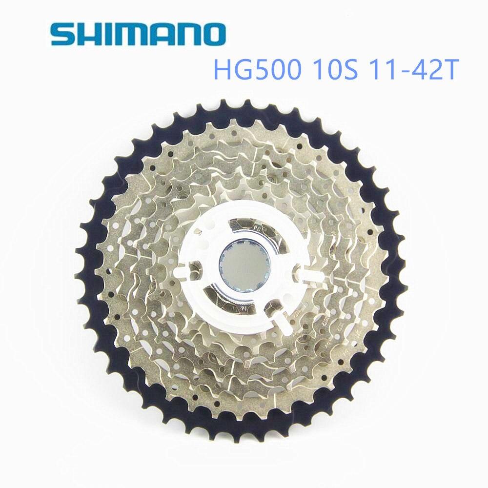SHIMANO DEORE M6000 CS HG500-10 11-42 T vtt vélo volant moteur HG500 10 S CASSETTE pignon 11-42 T 10 vitesses HG50-10 CASSETTE 11-36 T