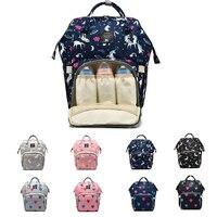 High Quality Mummy Maternity Diaper Bag Large Nursing Bag Travel Backpack Designer Stroller Kid Bag for Baby Care Nappy Backpack
