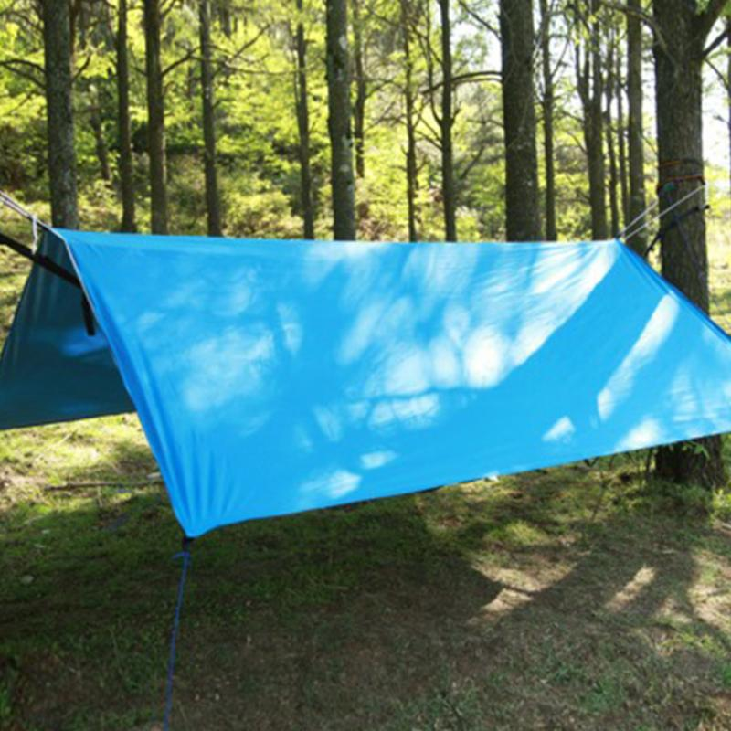 Большой Солнечные укрытия палатка Водонепроницаемый тент Пеший Туризм Портативный навес открытая беседка палатка 3*3 м большой Размеры брезент палатки