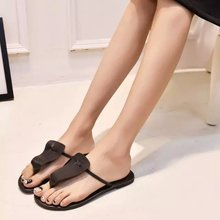 2016 summer women's sandals clip toe sandals Korean personality tide beach fashion flat shoes slip