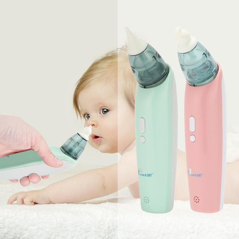 Baby Care Nasal Aspirator Electric Nose Cleaner Safe Hygienic Snot Device