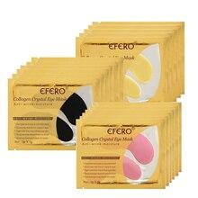 EFERO 10pcs=5pair Collagen Eye Mask Gel Patches Anti-Puffiness Remove Dark Circles Fine Lines Anti Age Sheet Masks Skin Care