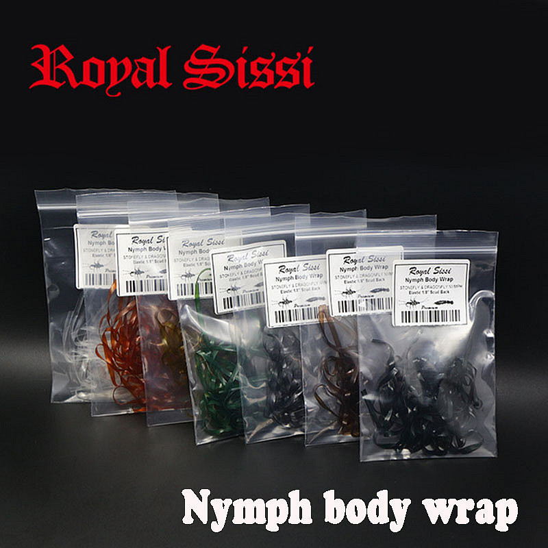 7colors/set nymph body wrap 1/8'' elastic &flex scud back/ synthetic fly tying material for stonefly &dragonfly nymph thin skin bimoo 6 bags ultra fine ice dub for fly tying synthetic sparkle dubbing fiber for nymph scud streamers fly tying material