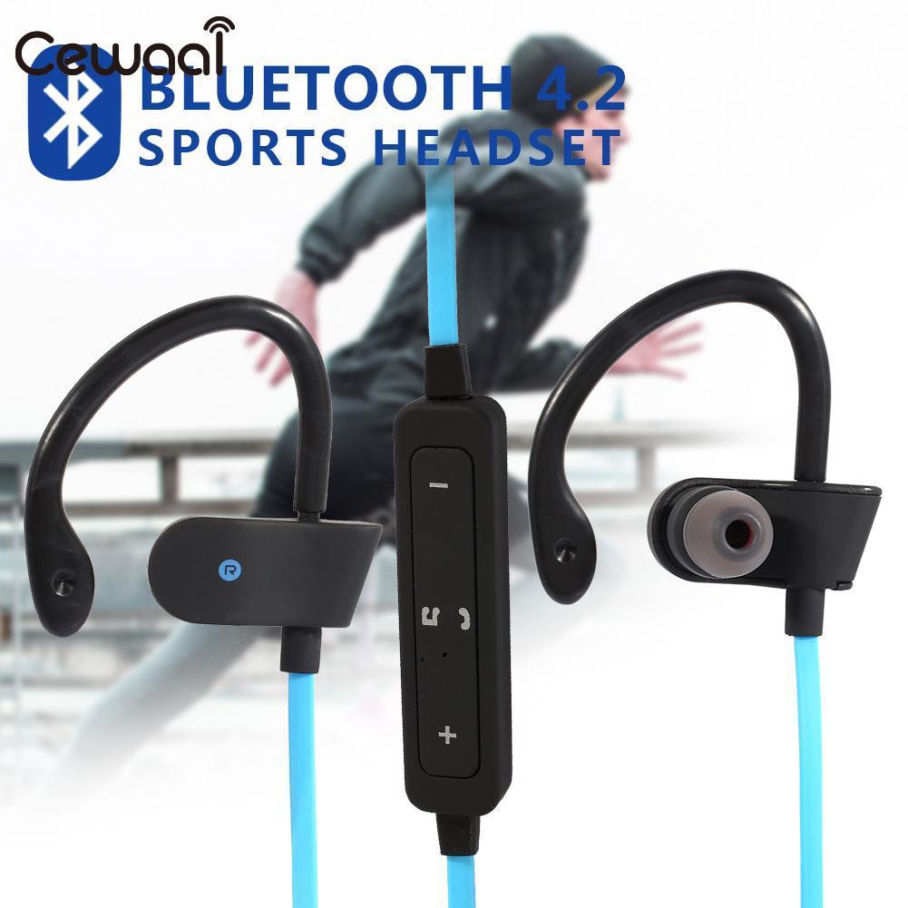 BT4.2 Sport Headphone Wireless Bluetooth Headset Portable Waterproof Earphone Stereo Music Hands-Free Smart Phone Music