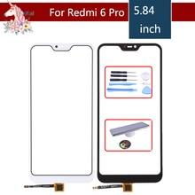 Original For Xiaomi Redmi 6 Pro 6PRO Mi A2 Lite Touch Screen Digitizer Touch Panel Sensor Front Outer Glass Touchscreen 5.84 original for xiaomi redmi note note 6 pro 6pro touch screen panel front outer glass lens touchscreen no lcd without digitizer