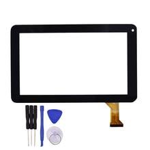 De alta Calidad de 9 pulgadas de Pantalla Táctil Negro DH-0926A1-PG-FPC080-V3.0 reemplazo Sensor Panel de Vidrio con Herramientas de Reparación