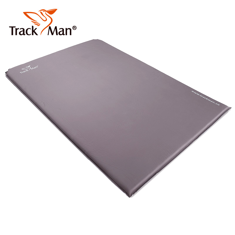 Trackman 2 Person Outdoor Self-Inflating Sleeping Pad without Pillow Camping Tent Mat Travel Moisture-proof Mat 3cm 4cm thick high quality outdoor 2 person camping tent double layer aluminum rod ultralight tent with snow skirt oneroad windsnow 2 plus