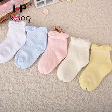 Hplikeing Free shipping cute baby socks baby clothing newborn bebe meias baby boys girls net calcetines mesh sock