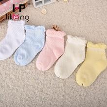 Hplikeing Free shipping cute baby socks baby clothing newborn bebe meias baby boys girls net calcetines mesh sock