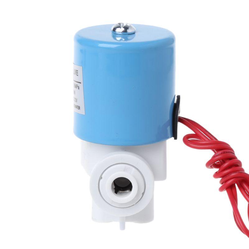 1/4 quick Connect Wasser Einlass Magnetventil Haushalts Reines-wasser Maschine Teile 12vdc 0 ~ 120psi Sanitär Ventil