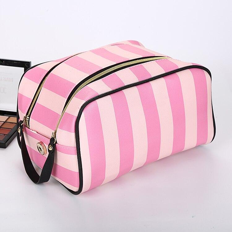 Dropshipping Make Up Bag Handbag Waterproof Cosmetic Bags Women Neceser Toiletry Bag Larger Capacity Travel Handbags For Women