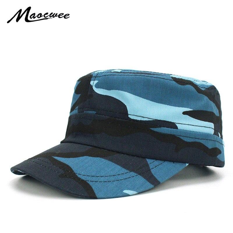 Men/'s Womens Camo Baseball Caps Sun Visor Military Army Adjustbale Hats Snapback